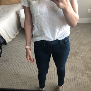Paige Transcend High Waist Ankle Skinny Jeans